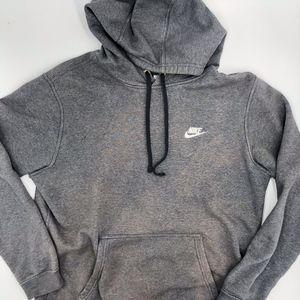 Nike Grey Active Hoodie Sweater Oversized